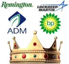 The kings of corporate welfare