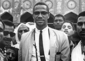 Malcolm X on his visit to Saudi Arabia