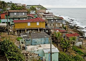 The La Perla neighborhood in San Juan has endured grinding poverty for decades