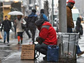 Homeless on the streets of the richest country in the world