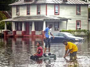 Disastrous flooding from Hurricane Florence