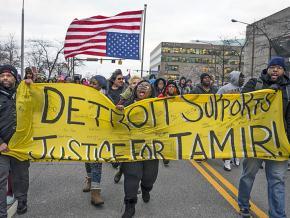 Activists demand justice for Tamir Rice in Detroit
