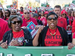 Los Angeles teachers march for the schools their students deserve