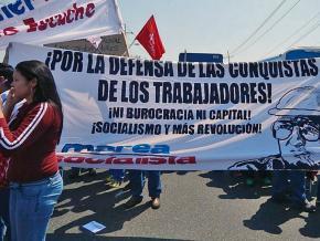 Venezuelan socialists march for working-class democracy